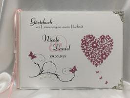 Gästebuch zur Hochzeit HGH03
