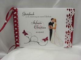 Gästebuch zur Hochzeit Nr. G005 viele Farben