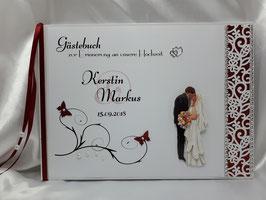 Gästebuch zur Hochzeit Brautpaar Nr. 8