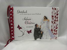 Gästebuch zur Hochzeit Nr. G007 viele Farben