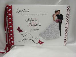 Gästebuch zur Hochzeit Nr. G003 viele Farben