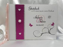 Gästebuch zur Hochzeit mit Fragen HGHF02