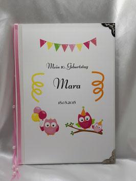 Erinnerungsbuch Geburtstag oder Einschulung o.ä.