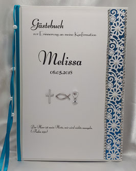 Gästebuch zur Konfirmation Kommunion HGK03