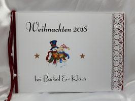 Erinnerungsbuch / Gästebuch zu Weihnachten
