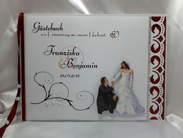 Gästebuch zur Hochzeit Brautpaar Nr. 3