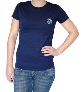 T-shirt CB bleu-marine Femme