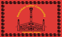 Ketchikan Alaska Tribe Flag