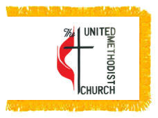 United Methodist Church Flag (Indoor Nylon)