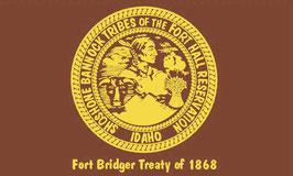 Shoshone Bannock Tribe of Idaho Flag