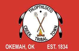 Thlopthlocco Creek Tribal Town Flag