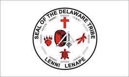 Lenni-Lenape Delaware Tribe Flag