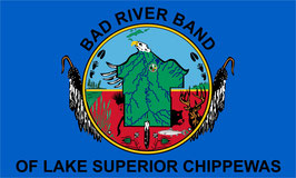 Bad River Band of Lake Superior Chippewa Flag