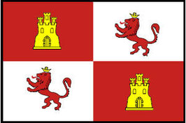 Royal Standard of Spain Flag (Castles & Lions)