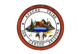 San Carlos Apache Flag