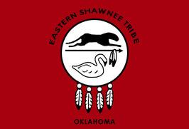 Eastern Shawnee Tribe of Oklahoma Flag