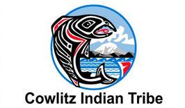 Cowlitz Indian Tribe Flag
