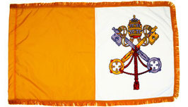 Vatican Papal Flag (Indoor Nylon)