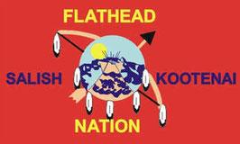 Flathead Nation Tribe Flag