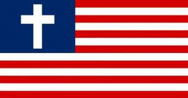 USA Christian Flag