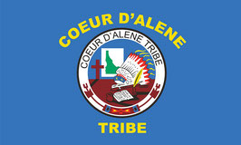 Coeur d'Alene Tribe Flag