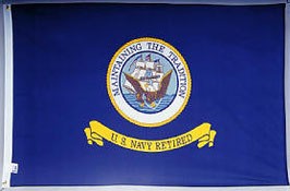 U.S. Navy Retired Flag