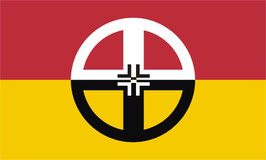 Native American Indian Healing Flag