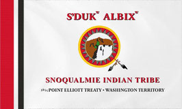 Snoqualmie Indian Tribe Flag