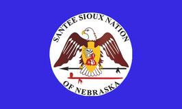 Santee Sioux Tribe Flag