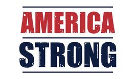 USA America Strong Flag
