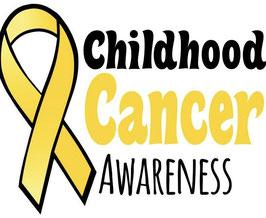 Childhood Cancer Awareness Flag (White)