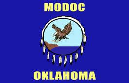 Modoc Tribe of Oklahoma Flag