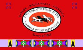 Umatilla Tribe Flag