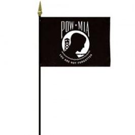 """POW/MIA 4""""x6"""" Flag"""