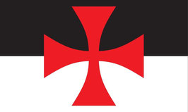 Knights Templar Cross Battle Flag