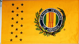 Vietnam War Veterans Commemorative Flag