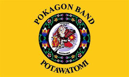 Pokagon Band Potawatomi Flag