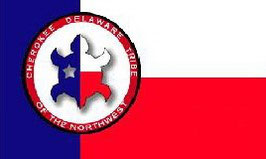Cherokee Delaware Tribe of the Northwest Flag