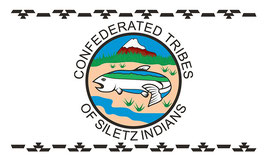 Confederated Tribes of the Siletz Flag