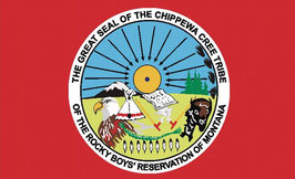 Chippewa Cree Tribe of Montana Flag