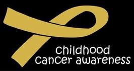 Childhood Cancer Awareness Flag (Black)