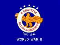World War II Veterans Commemorative Flag