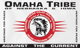 Omaha Tribe of Nebraska & Iowa Flag