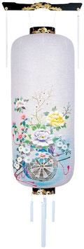 盆提灯:博多長 花車(桜)