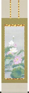 掛軸「聖蓮花」