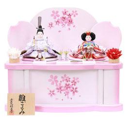 ひな人形「親王収納箱飾り」