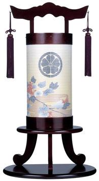 盆提灯:創作提灯「ともしび 桜調」敷板付