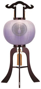 盆提灯:行灯「ワイン 紫ボカシ」