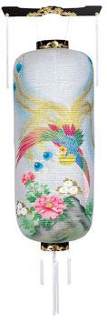 盆提灯:博多長 孔雀(桜)