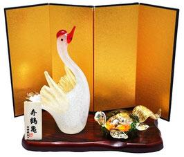 商品名:博多びーどろ「寿鶴亀」